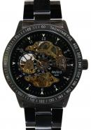 Daybird Elegant Men's black Dial Automatic Titanium Strap  Watches