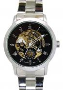 Daybird Men's  Hollow Out Roma Dial Golden Skeleton Automatic Mechanical Watches,Men's Ornaments