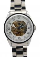 Daybird Roman Numeral White Dial Automatic Stainless Steel Watch