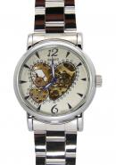 Daybird Heart-shaped Dial Automatic Stainless Steel Watches