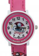 Timermall Lovely Children Pink Band Analogue watches