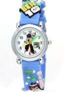 TimerMall Ben 10 Handsome Blue Band Analogue Cartoon Watches