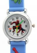 TimerMall Spider Man Pattern Round Dial Water Resistant Cute Children's Watches