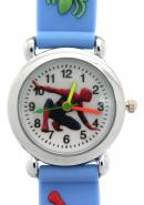TimerMall Water Resistant Spider Man Rubber Band Quartz Sport Kid's Watches
