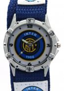 Timermall Internazionale FC Blue Fabric Strap Analogue Sport Watch