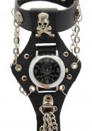 TimerMall Cool Modeling Raw and Bloody Bones Round Face Quartz Watches