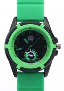 TimerMall Rubber Strap Green And Black Colour Subdial Men's Watches