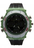 Ohsen Unisex's Green Case Multifunction Waterproof Sport Style Watches