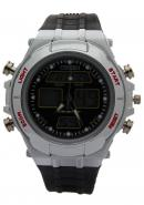 Ohsen Black Dial Chronograph Multifunction Analogue Waterproof Watches