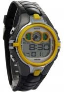 Ohsen Fashion Yellow Case Analogue Waterproof With Sport Style Watches