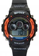 Santai Chronograph Water 30M Resist With Alarm Digital Sport Watches