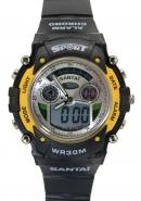Santai Chronograph  Analogue Digital Waterproof Sport Style Watches