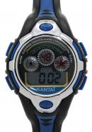Santai Rubber Band  Alarm Digital Waterproof Chronograph Watches