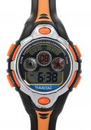 Santai Chronograph Water 30M Resist Digital Alarm Sport Watch