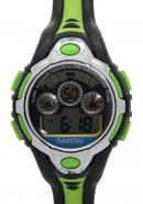 Santai green digital sport watch