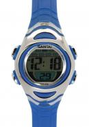 Santai Chronograph Waterproof Alarm Blue Strap Sport Style Watches