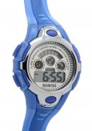 Santai Date Display With Alarm Waterproof Digital Chronograph Watches