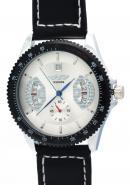 WINNER Mens Sub Dials Calendar Date White Dial Waterproof Automatic Skeleton Watches