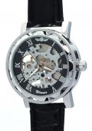WINNER Mens Guys Boys Gentlemen Buddies Manually Winding Mechanical Skeleton Leather Watches